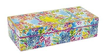 Amazoncom Lilly Pulitzer Lacquer Box Medium Mermaid 162414