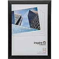 Hampton Frames Oxford Calidad Negro Madera A4 21x30