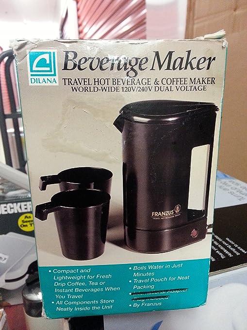Amazon.com: franzus Beverage Maker/Viaje Bebida caliente ...