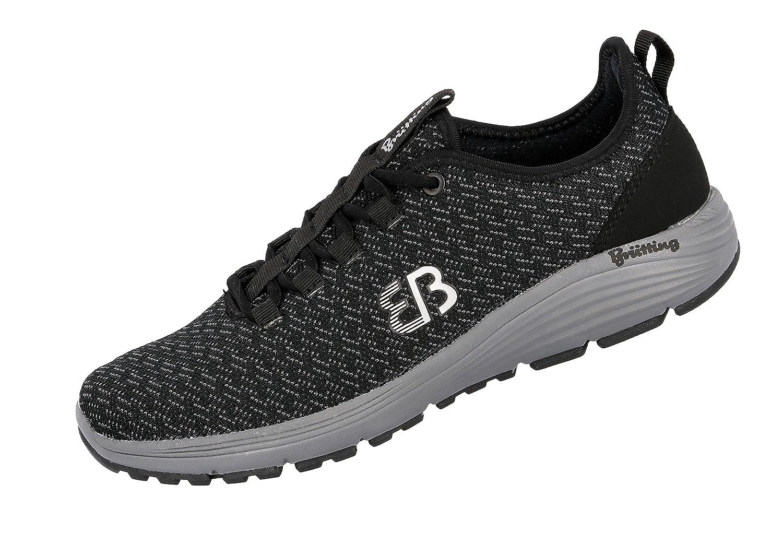 Bruetting Highspeed, Zapatillas de Entrenamiento Unisex Adulto 40 EU|Negro (Schwarz/Grau Schwarz/Grau)
