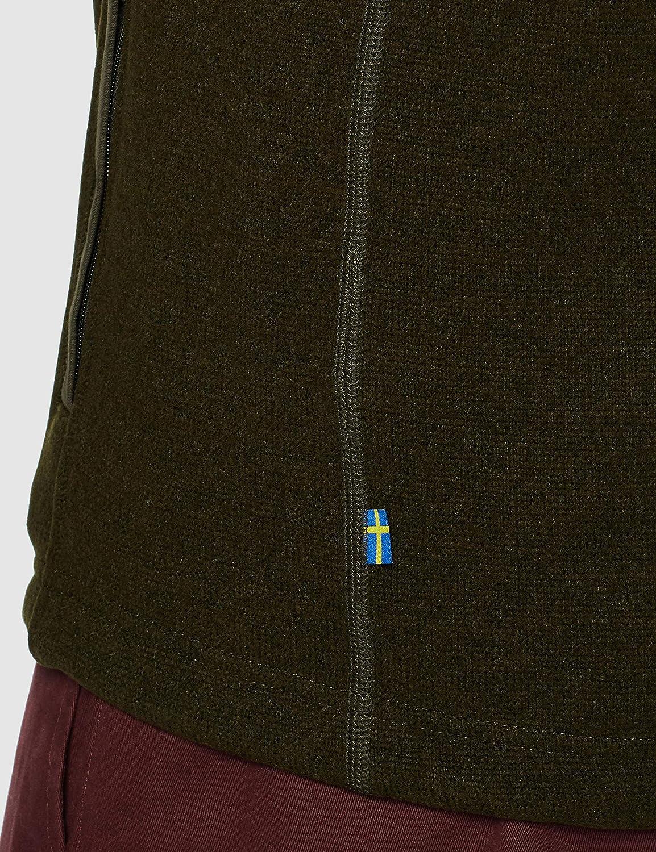 Fjallraven Herren Buck Fleece Vest M Sweatshirt Dark Olive