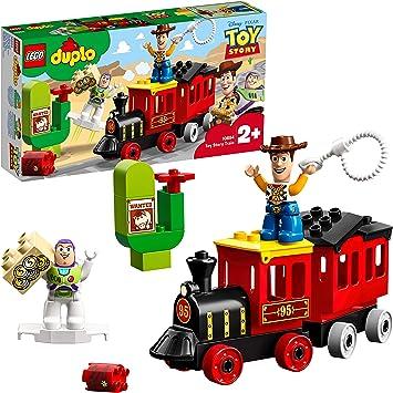 LEGO DUPLO - Tren de Toy Story, Juguete de Construcción con Personajes de la Película de Pixars y Figura de Woody y Buzz Lightyear (10894): Amazon.es: Juguetes y juegos