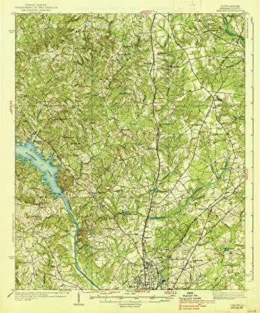 Amazon Com Yellowmaps Camden Sc Topo Map 1 62500 Scale 15 X 15