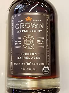 product image for Bourbon Barrel Aged Maple Syrup by Crown Maple Farm - Ltd Edition (12.7 fluid ounce)