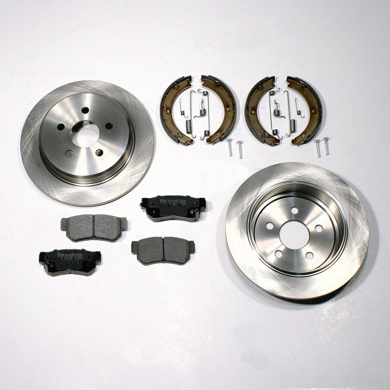 Zubeh/ör f/ür hinten//f/ür die Hinterachse Bel/äge Bremsbacken Bremsscheiben Bremsen