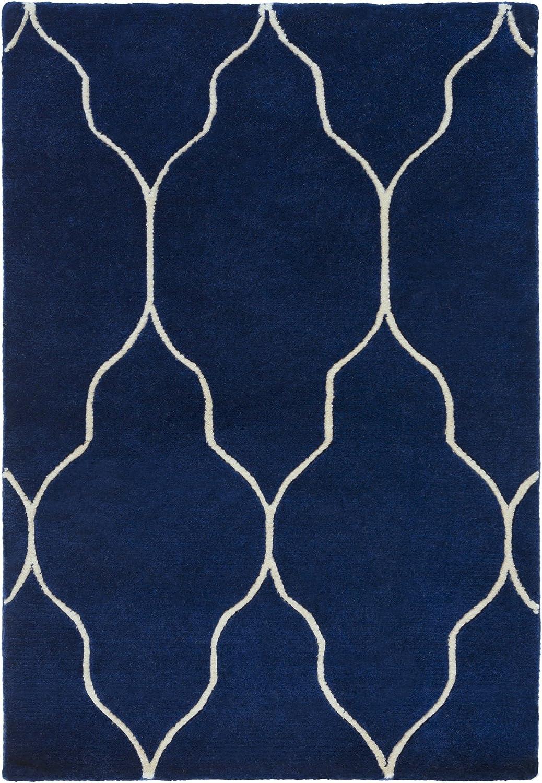 B00LK037YK Surya Hand Knotted Geometric Accent Rug, 2-Feet by 3-Feet 91mgtJmgCrL
