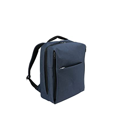 Water Resistant Laptop Backpack, Anti-Theft School Business Travel Backpack Fits Up to 15.6 Inch Laptop (Blue) hot sale