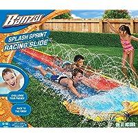 BANZAI 42324 Splash Sprint Racing Slide, Pista Deslizante