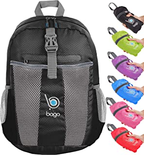 40de38f6ef8a Bago Foldable Rucksack for Women and Men. Lightweight Water Resistant  Packable…