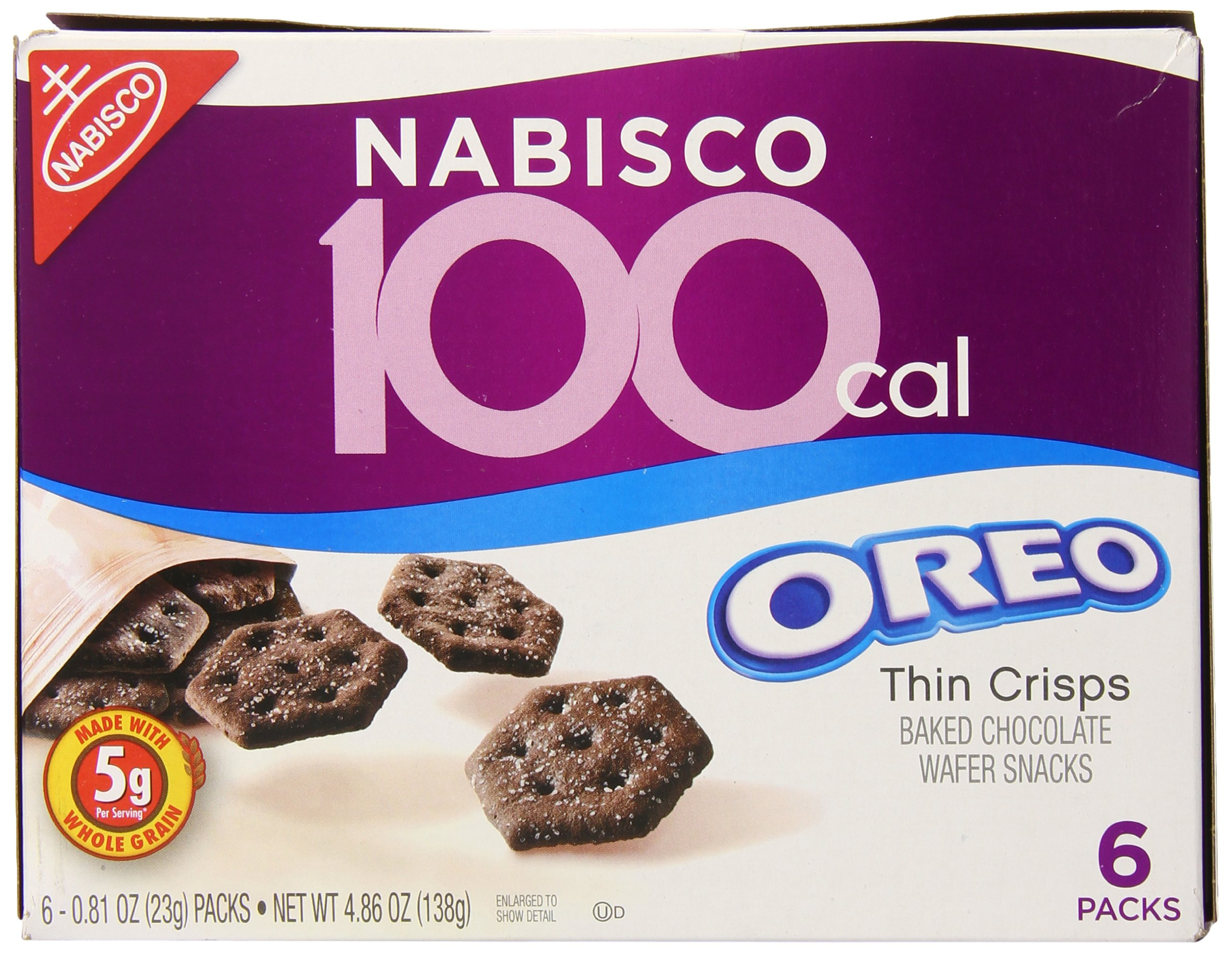100 Calorie Oreo Thin Crisps, 6 Count (Pack of 6)