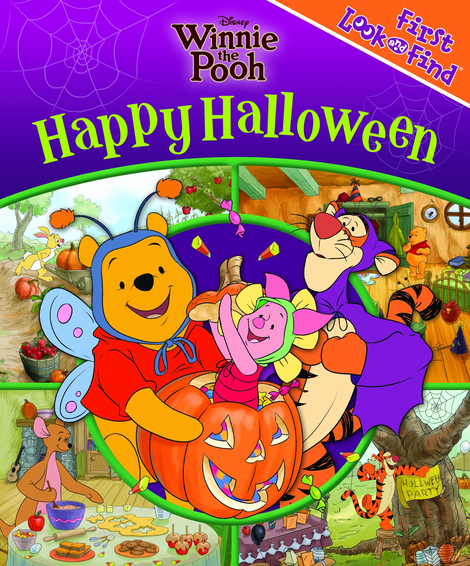 Disney Winnie the Pooh Happy Halloween First Look and Find: