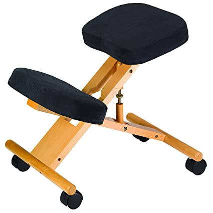 Classic Kneeling Chair Jobri BetterPosture Kneeler Chair Ergonomic Kneeling  Chair For Back Pain
