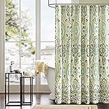 Intelligent Design Printed Cute Youth Bathroom Shower Curtain Mildew Resistant Quick Dry Modern Looking Bath-Curtain, 72x72,