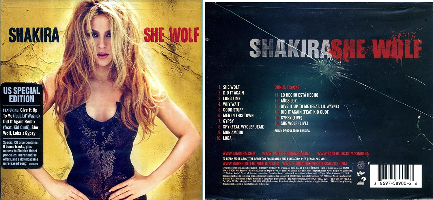 shakira she wolf audio download