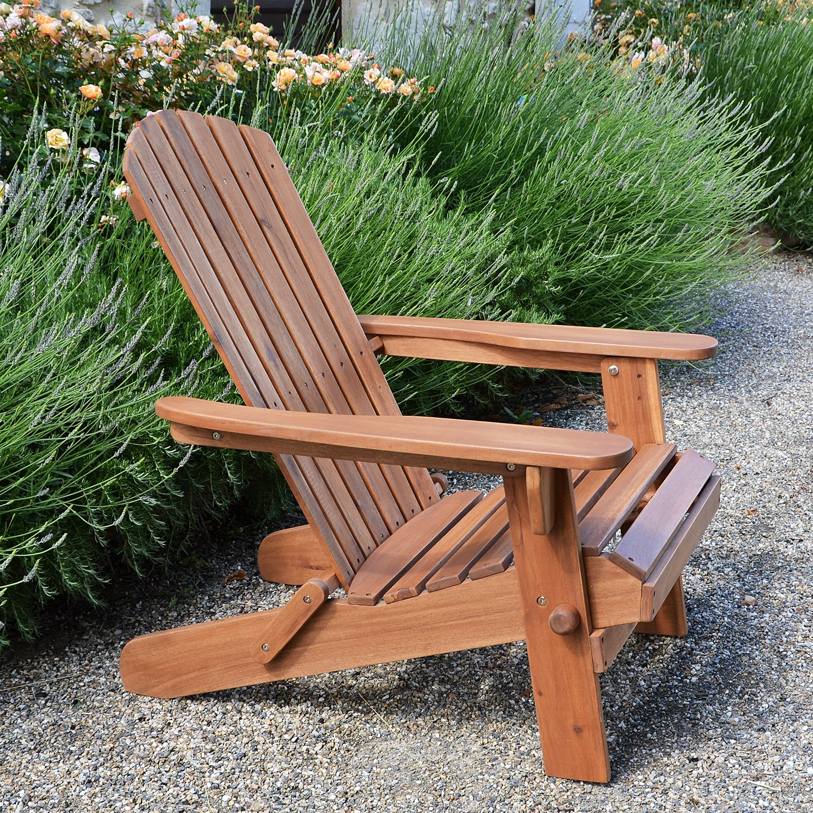 Plant Theatre Adirondack Folding Hardwood Chair by Plant Theatre