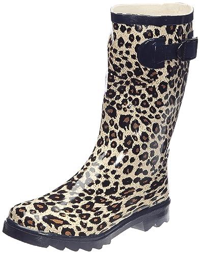 Jardy Demi Leo, Bottes de pluie femme , Leopard, 37 EU