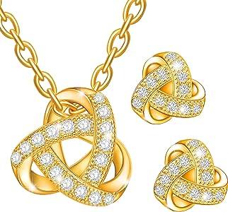 Dawanza - Regalos Día de la Madre Juego de joyas de