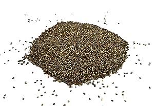 Baltoro Organic Black Chia Seeds Whole Raw, Dried, Non GMO.