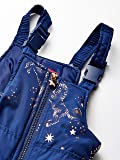 London Fog Girls' Toddler Snowsuit with Snowbib and Puffer Jacket, Fall Navy Unicorn, 3T