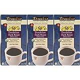 Teeccino Organic Dandelion Dark Roast Chicory Herbal Tea Bags, Gluten Free, Caffeine Free, Acid Free, 25 Count (Pack of 3)