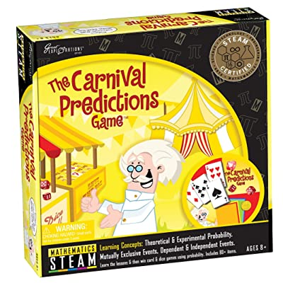 Great Explorations Carnival Predictions Game: Toys & Games