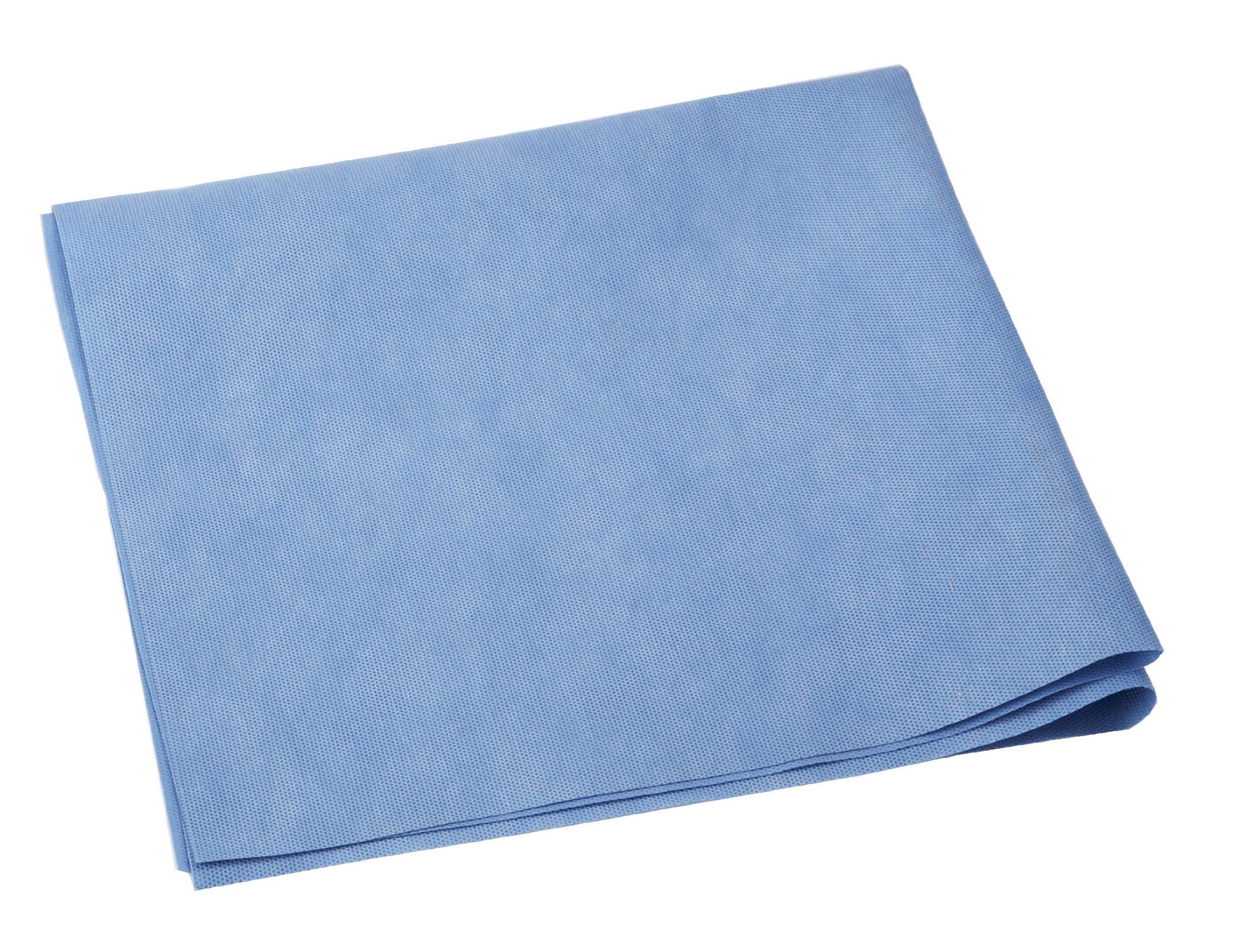Medline GEM4124 WRAP, BONDED, GEMINI, 24X24, HVY WT, Blue (Case of 250)
