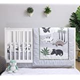 Amazon Com Mod Pod Pop Monkey 4 Piece Crib Bedding Set