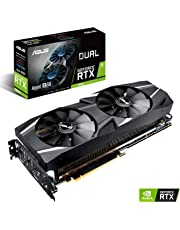 ASUS GeForce RTX 2070 Advanced Overclocked 8G GDDR6 Dual-Fan Edition VR Ready HDMI DP USB Type-C Graphics Card