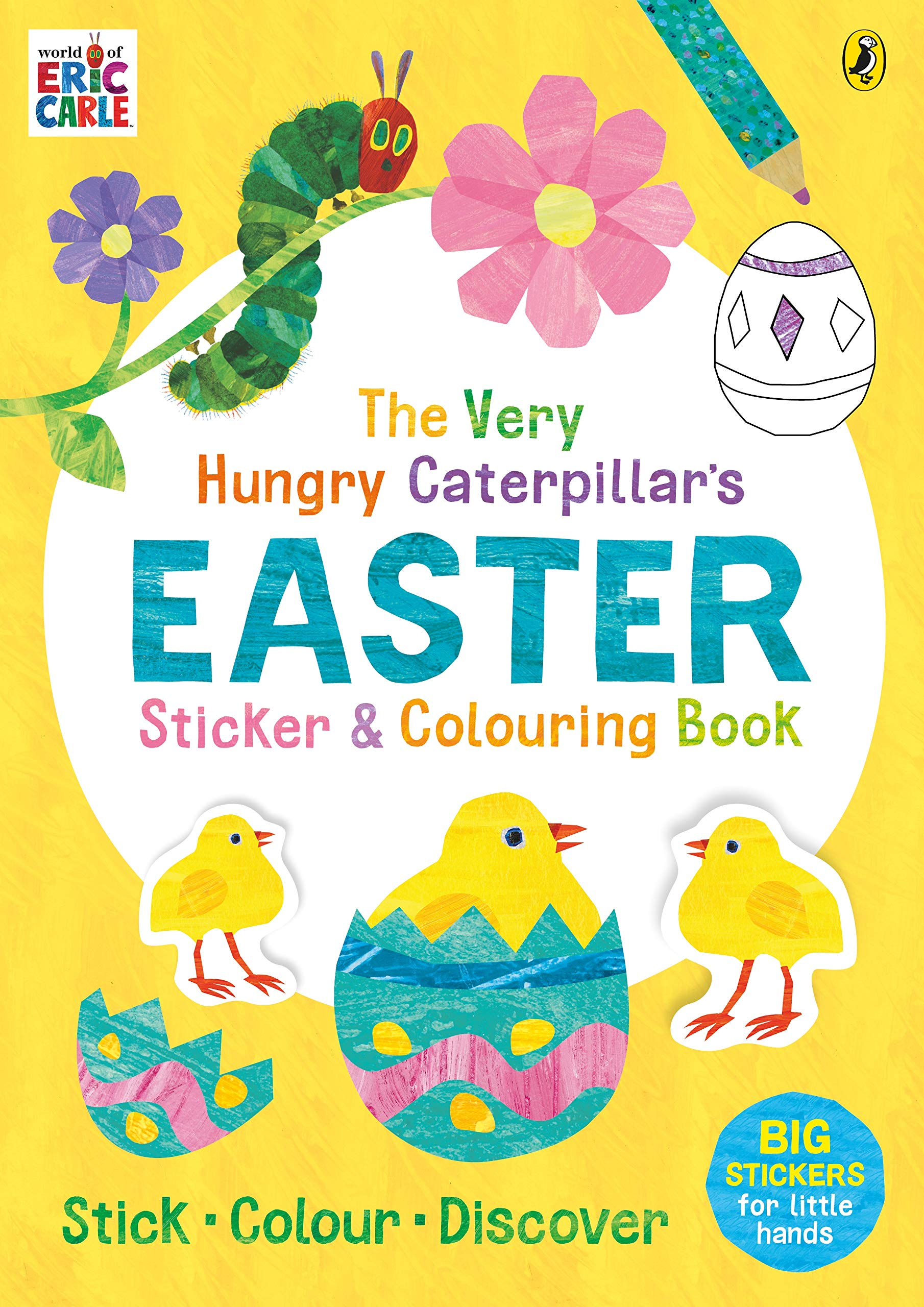- Amazon.com: The Very Hungry Caterpillar's Easter Sticker And
