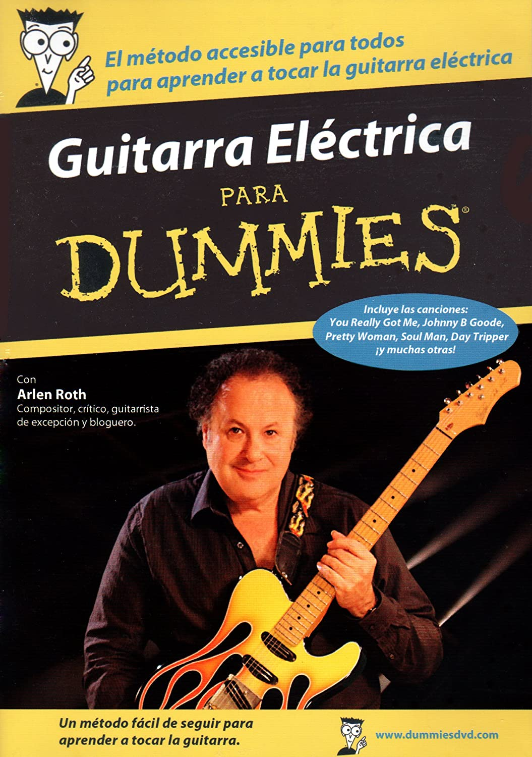 GUITARRA ELECTRICA para Dummies [DVD]: Amazon.es: Arlen Roth ...