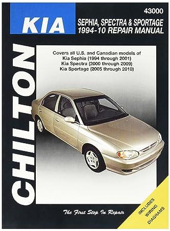 amazon com chilton kia repair manual automotive rh amazon com 2001 Kia Sephia Problems 2001 Kia Sephia Problems