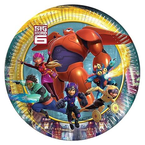 Unique Party Big Hero 6 Baymax - Cartel Gigante ROBOWABOHU ...