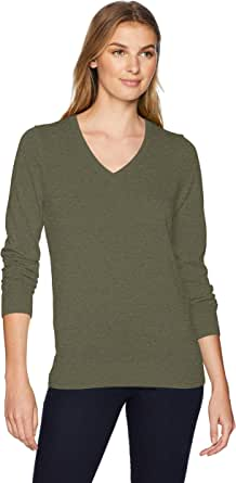 Amazon Essentials Lightweight V-Neck Sweater Mujer