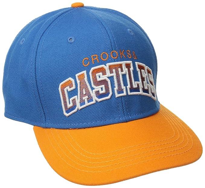 Crooks   Castles Men s Woven Snapback Cap-Team Castles c48895014a6