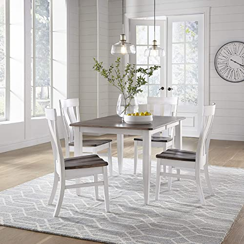 7 Piece Solid Maple Wood Dining Room Set | Full Kitchen Table Set