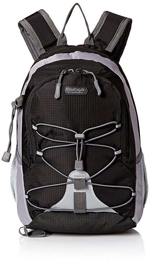 b92914d653c7 Free Knight Children Bag Small Backpack Daypack Rucksack for Sport Travel  Camping - Black