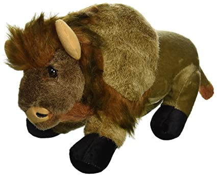 Amazon Com Wishpets 9 5 Standing Buffalo Plush Toys Games