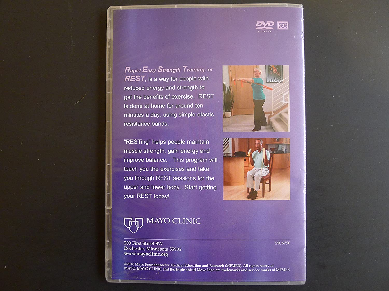 Amazon com: Mayo Clinic REST Rapid Easy Strength Training