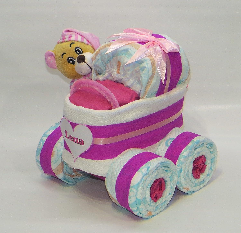 Taufgeschenk oder Mitbringsel Geschenkset Traktor mit Glitzerbecher 5-teilig Geburtsgeschenk