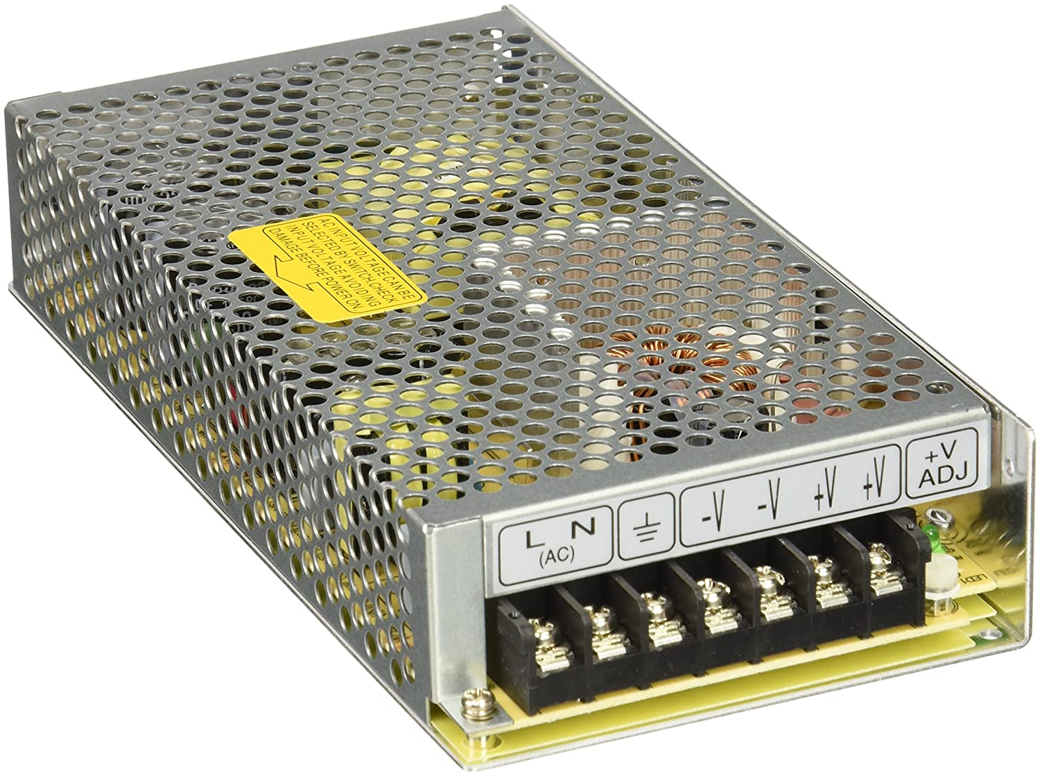 Amazon.com: MEAN WELL RS-150-12 AC to DC Power Supply, Single Output ...