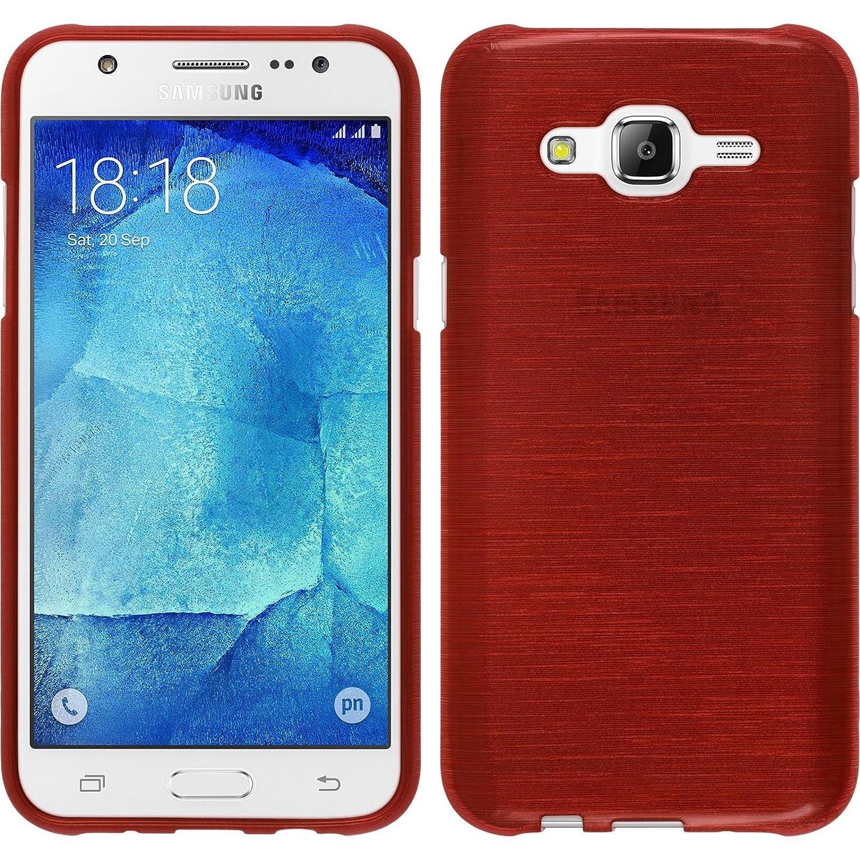 Phonenatic Samsung Galaxy J5 Rot Silikon Hlle Elektronik J500