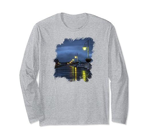 Blue Hour Boardwalk Long-sleeved T-Shirt