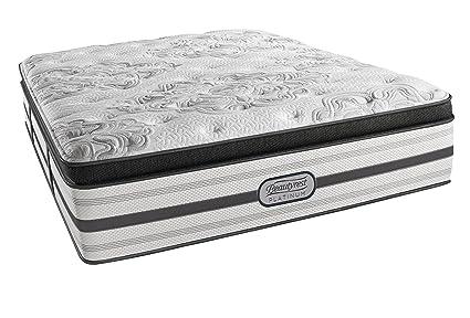 Beautyrest Mattress Reviews Consumer Reports >> Beautyrest Platinum Luxury Firm Pillow Top Montego Twin Xl Innerspring Mattress