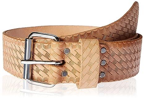 CLC E4521 - Cinturón de trabajo de piel con relieve de 5 cm de ancho ... fc714f3cca46