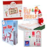 Elf On The Shelf Gift Set - Elves At Play 15 Piece Tool Set With Blue Eyed Boy Elf - In Gift Box Direct From North Pole