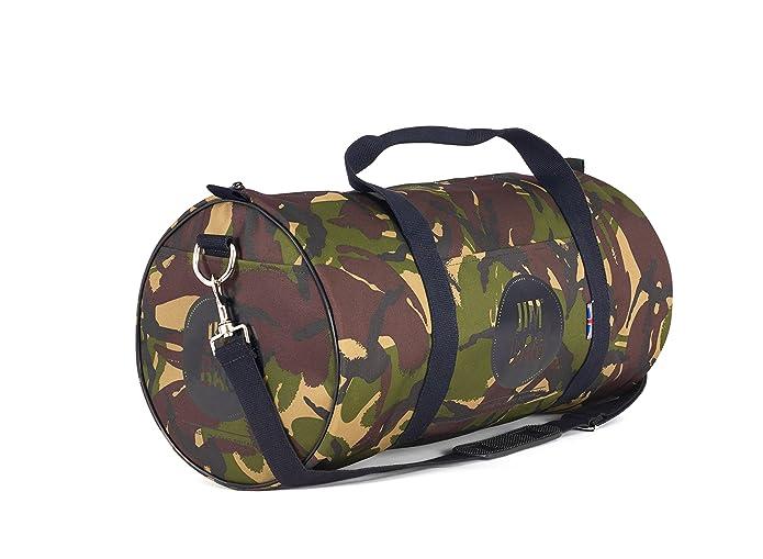 102cd76825 Camel and Black Gym Bag Sports Fashion Holdall Jimbag  Amazon.co.uk  Shoes    Bags