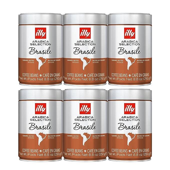 illy Whole Bean Coffee - Arabica Selection - Brasile Medium ...