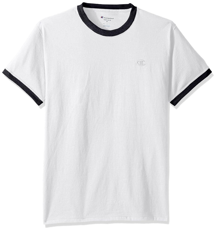 0c886030a65c Amazon.com: Champion Men's Classic Jersey Ringer Tee: Clothing