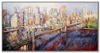 New york manhattan la grande mela skyline quadro