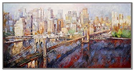 New york u manhattan u die große apfel u skyline u rahmen